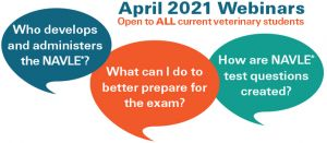 Upcoming April Webinars for ALL Veterinary Students